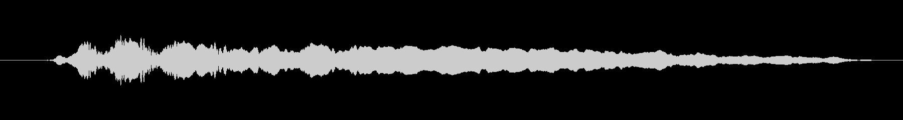 FX ホイッスルスライドトレモロ09の未再生の波形