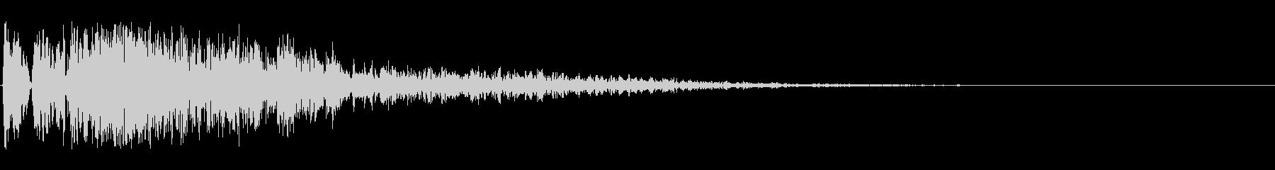 爆発;複数03の未再生の波形