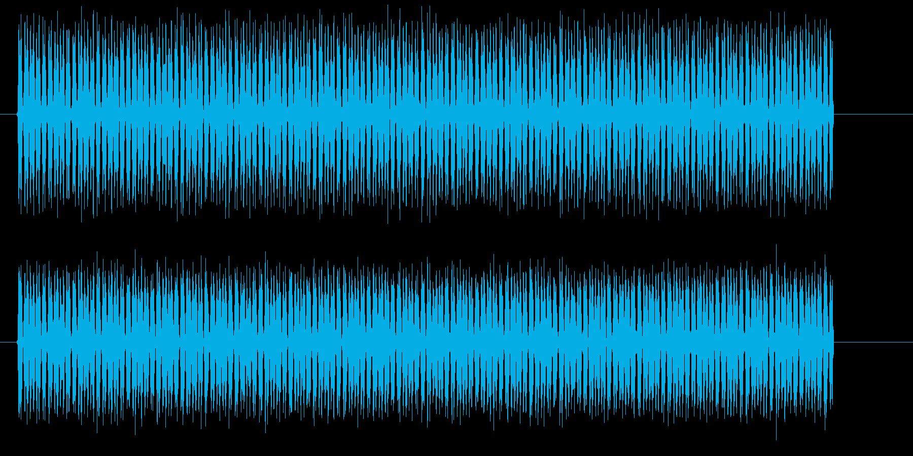 ピョンピョンピョンピョン(高音の電子音)の再生済みの波形