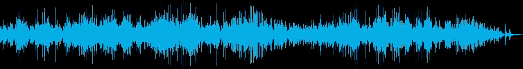 ベートーベンの月光ソナタ第一楽章の再生済みの波形