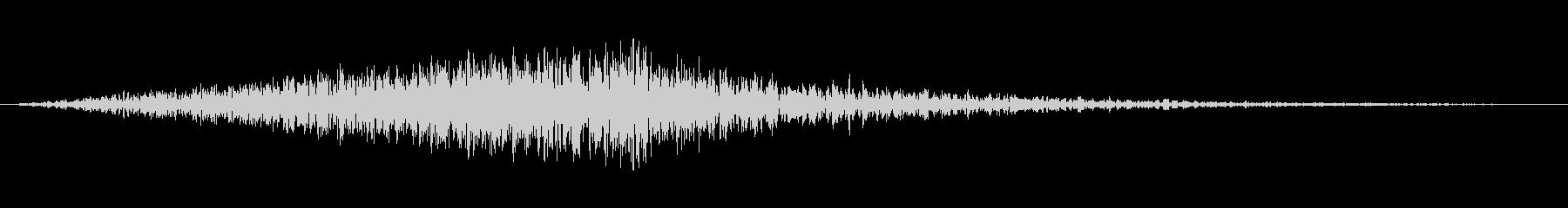 風音02(ピュー/短い系)の未再生の波形