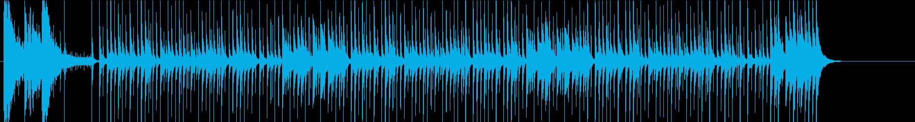 ほんわかチープでコミカルな和風BGMの再生済みの波形