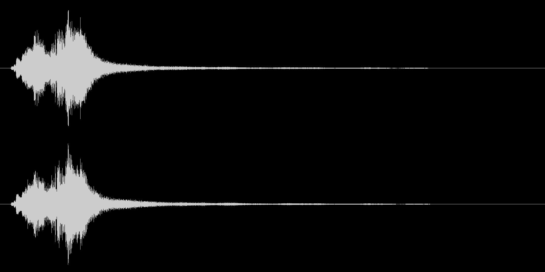 ハープグリッサンド下行1回上行1回~Ebの未再生の波形