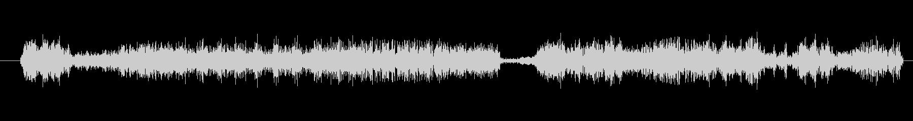 イメージ クレイジートーク12の未再生の波形