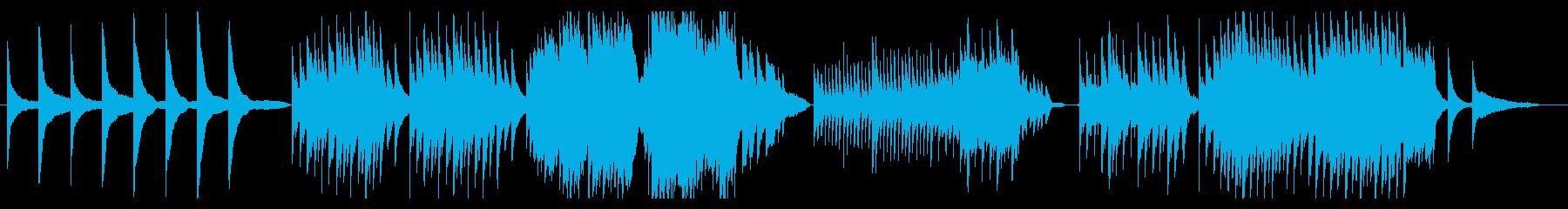 【劇伴】哀しいシーン用の静かなピアノ曲の再生済みの波形