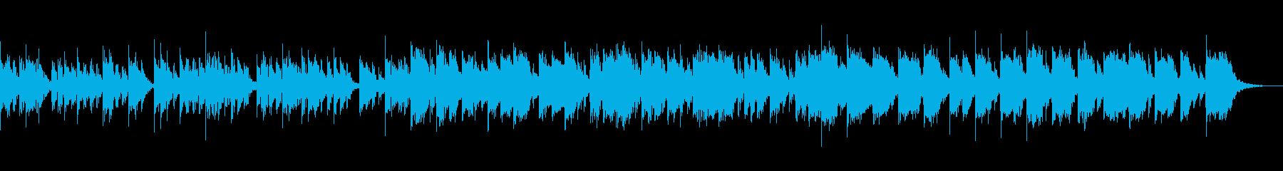 広がりのある安らぎサウンドの再生済みの波形