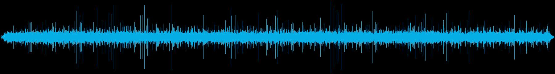 せせらぎの音 の再生済みの波形