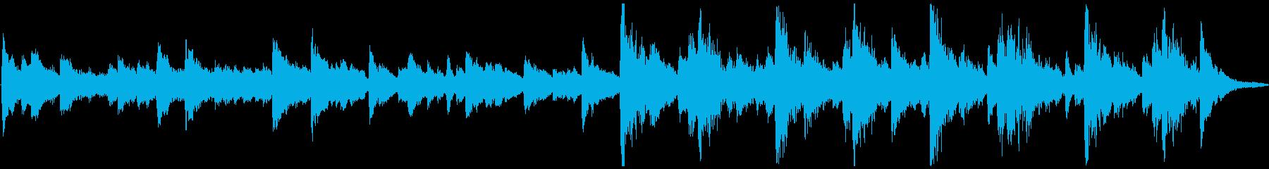 メインメロディーはマリンバとクラシ...の再生済みの波形
