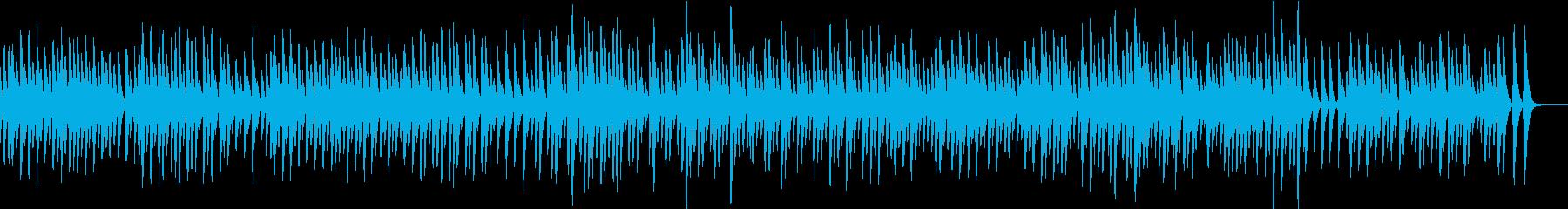 愛の挨拶/暖かい音色のオルゴールの再生済みの波形