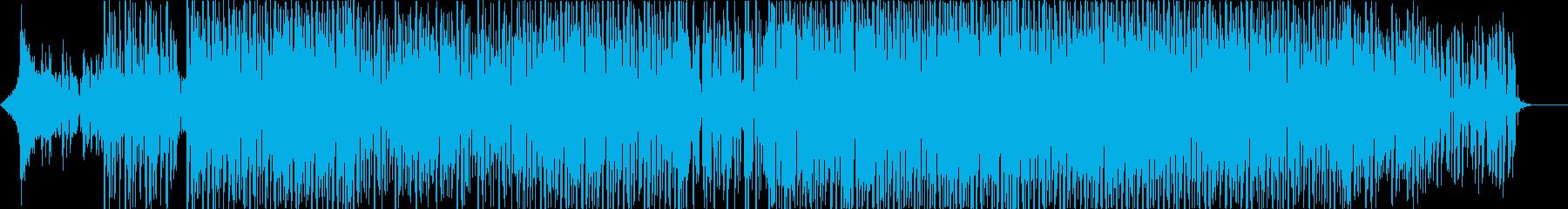 YouTube/可愛い/EDM/OP風の再生済みの波形