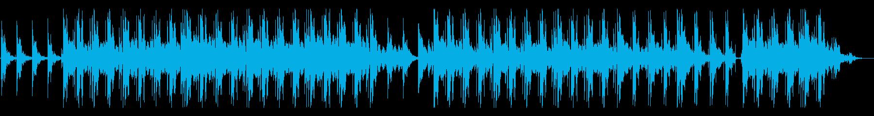 ゆったりとしたチルサウンドの再生済みの波形