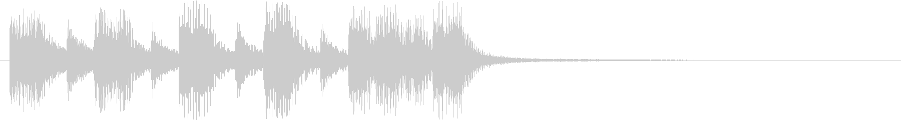 トランペット・クール・キメキメの未再生の波形
