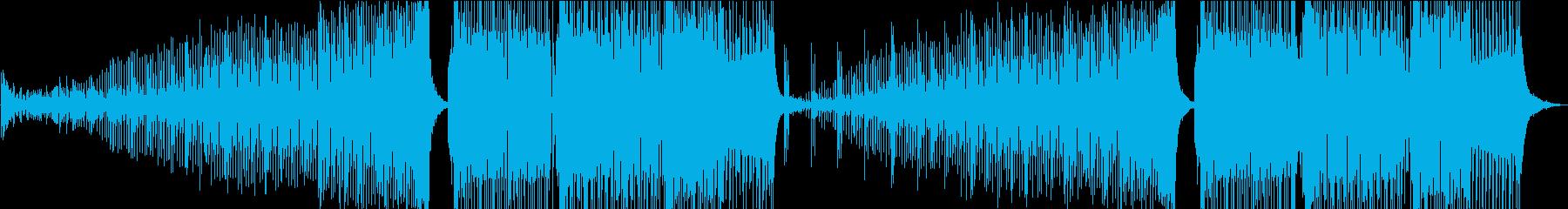 プログレッシブハウス、スクラッシーベースの再生済みの波形