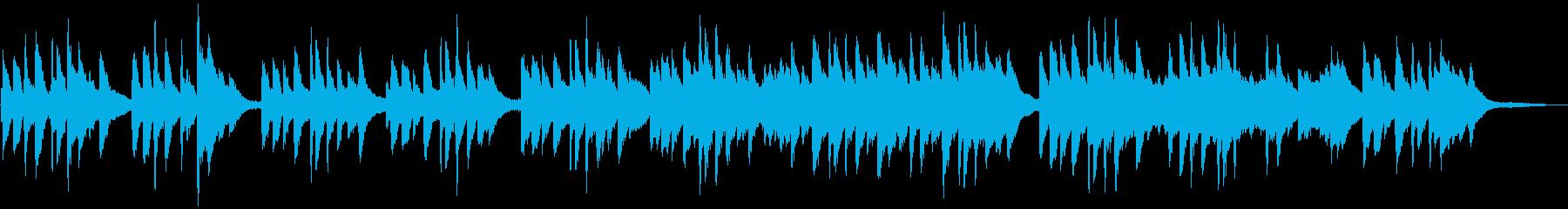 優しくシンプル レトロ・アナログなピアノの再生済みの波形
