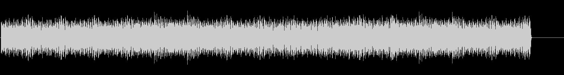 スピード感のあるテクノ(メニュー画面)の未再生の波形