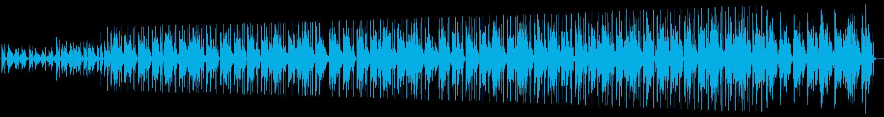 スプートニク 帰り道のローファイギターの再生済みの波形