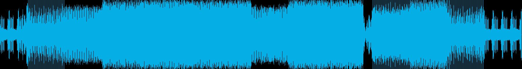 ダンスフロア。イントロトランスハウ...の再生済みの波形