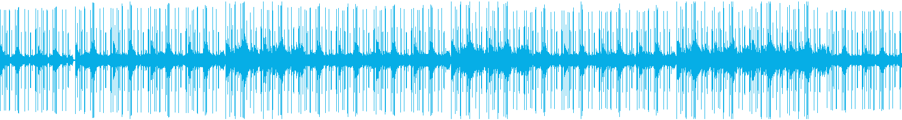 優しいローファイヒップホップ チルアウトの再生済みの波形