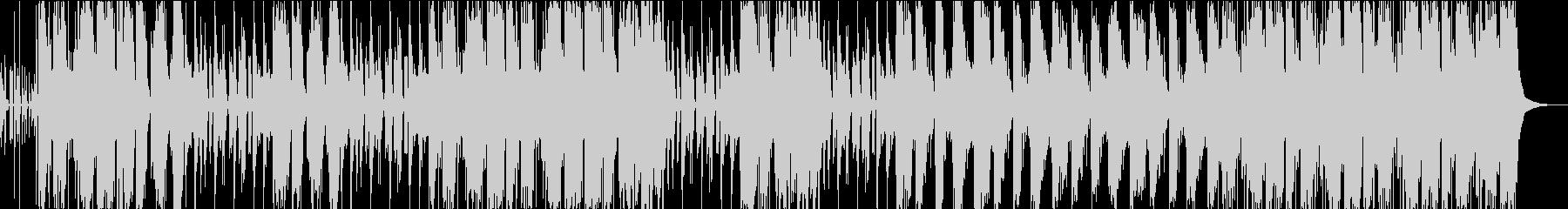 重低音なHIPーHOPサウンドの未再生の波形