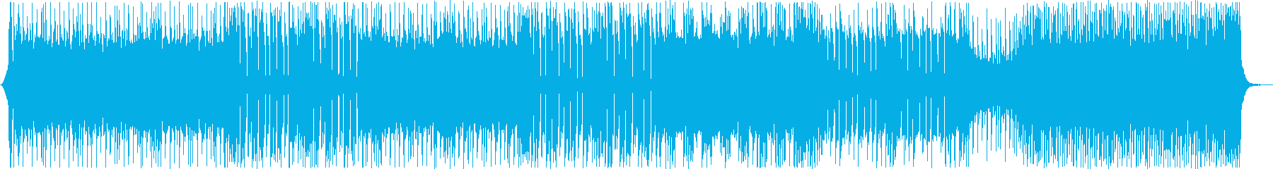 重低音が中毒性あるかっこいいメロディーの再生済みの波形