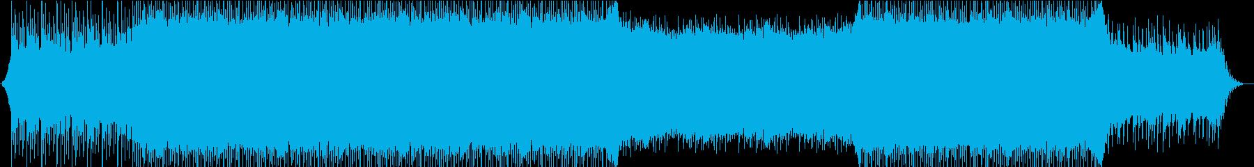 ピアノとヴァイオリンの爽やかなPOPSの再生済みの波形