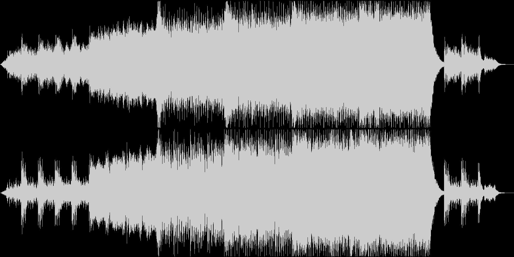開放感たっぷり壮大シネマチックポップ2の未再生の波形