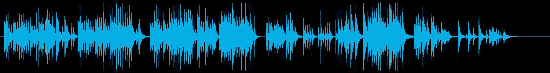 ピアノソロです。CMや、ゲーム・アニメ…の再生済みの波形