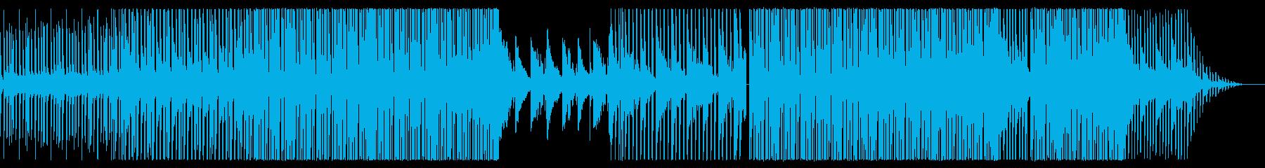 ワクワクで楽しいエレクトロ/ハウスポップの再生済みの波形