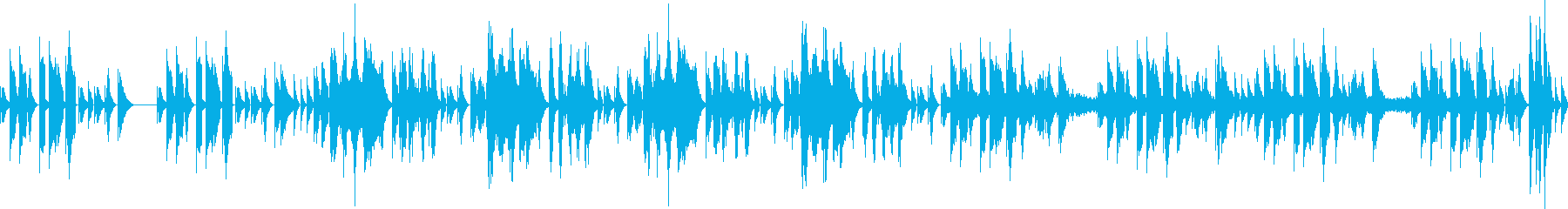 ポップ・ジャジー・ファンキー・スリリングの再生済みの波形