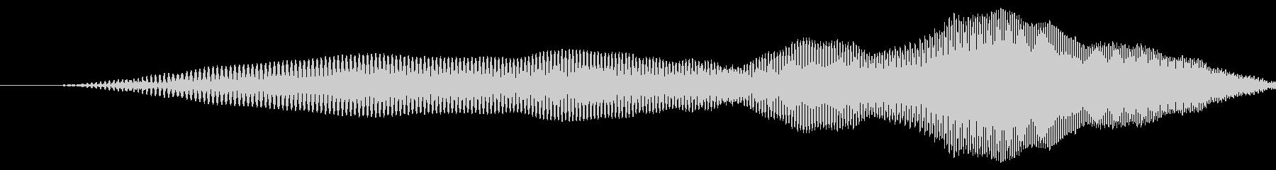 漫画のスライドslideが速くの未再生の波形