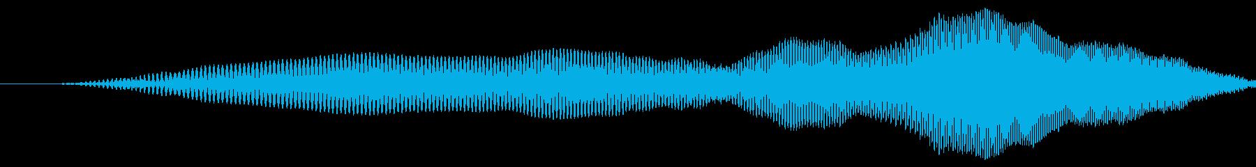 漫画のスライドslideが速くの再生済みの波形