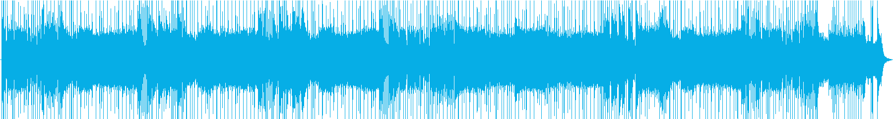 力強さを感じるシンプルなギターロックの再生済みの波形