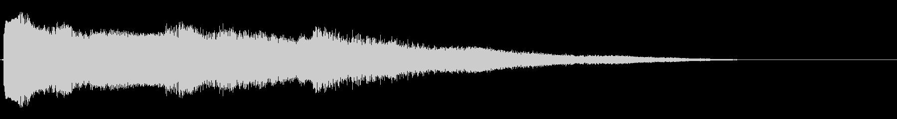 ビープスクランブル、高の未再生の波形