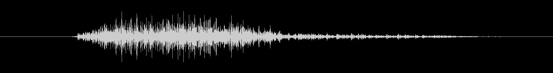 鳴き声 男性コンバットヒットハード09の未再生の波形