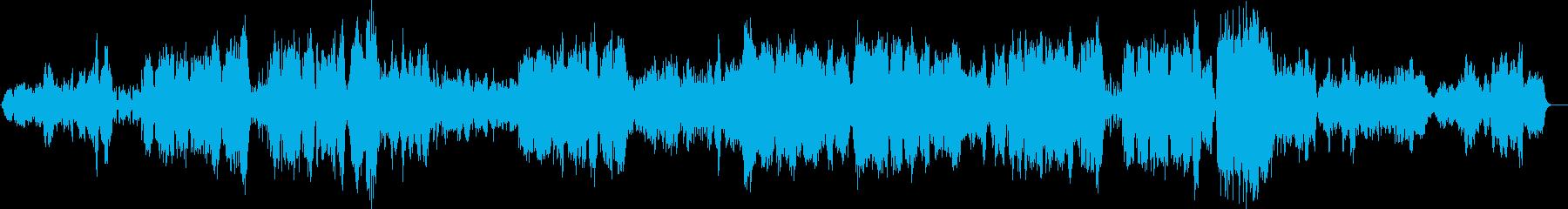 ポップス風な混声合唱オーケストラ曲です。の再生済みの波形