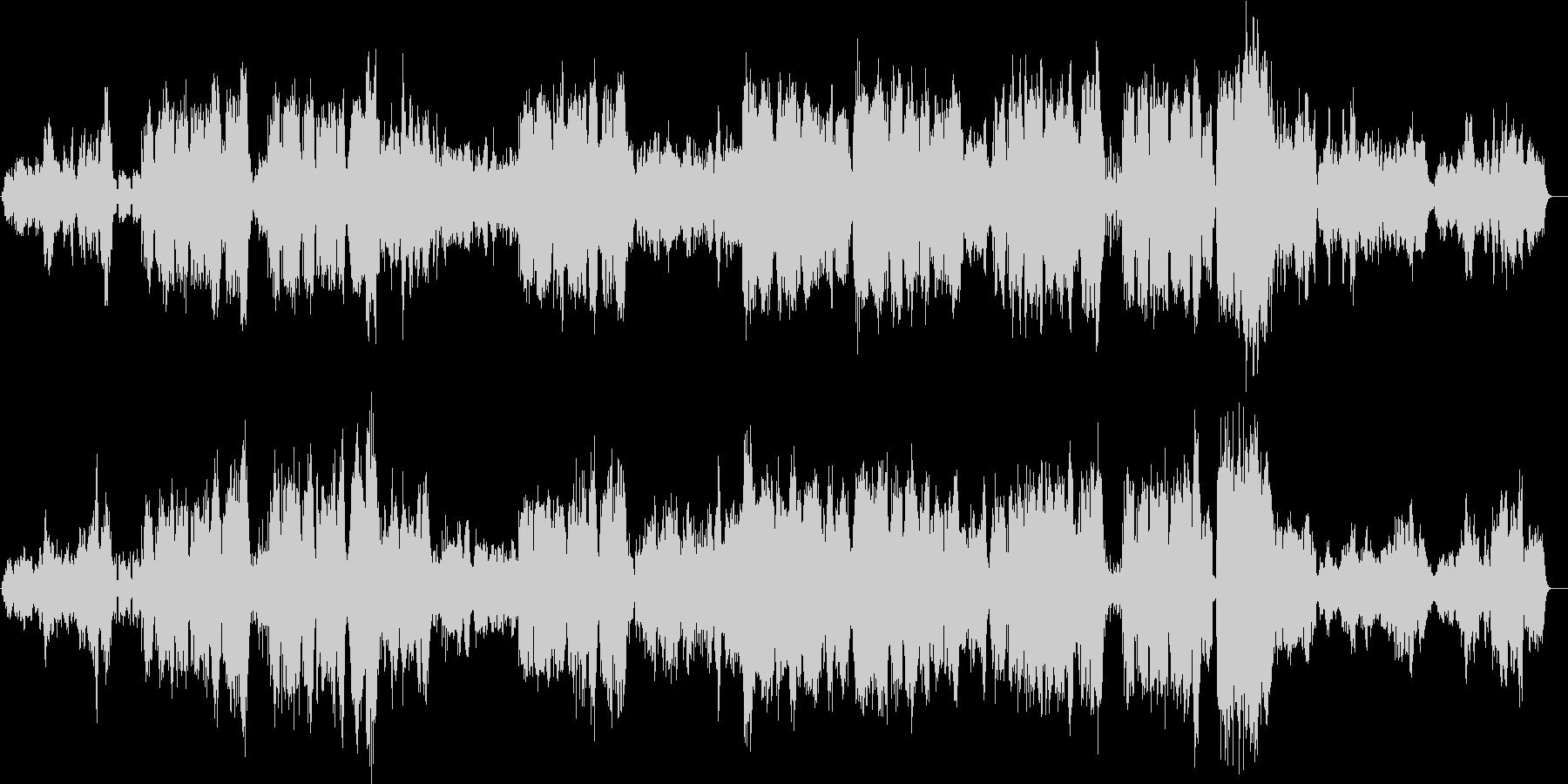 ポップス風な混声合唱オーケストラ曲です。の未再生の波形