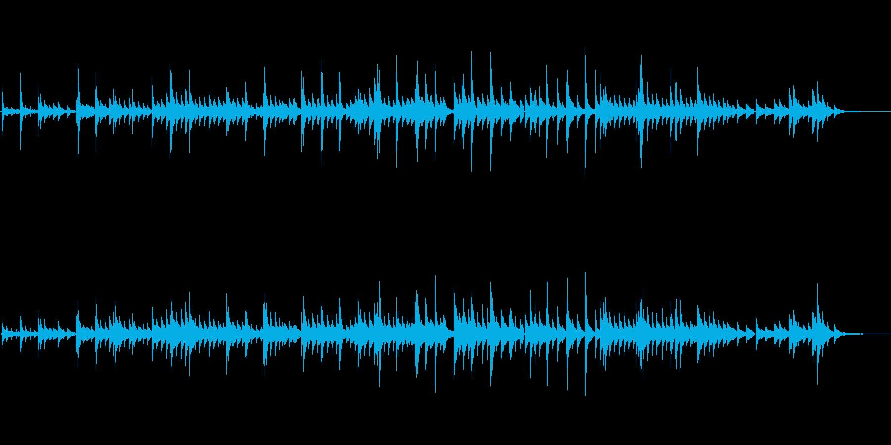 生ピアノソロ・Creationの再生済みの波形