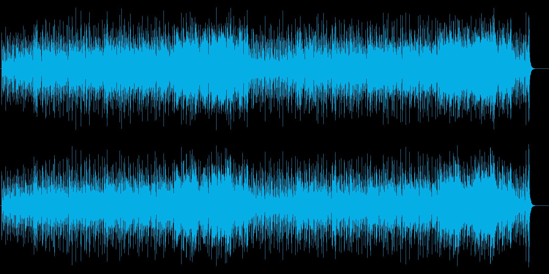 ドキュメンタリー風マイナーフュージョンの再生済みの波形