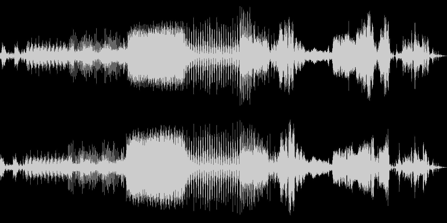 メカパルスミュージカルパルサーの未再生の波形