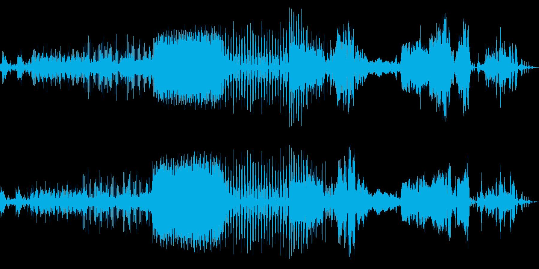 メカパルスミュージカルパルサーの再生済みの波形