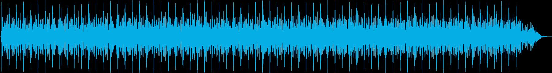 低音ベースが鳴り響くテクノ情熱モダン革新の再生済みの波形