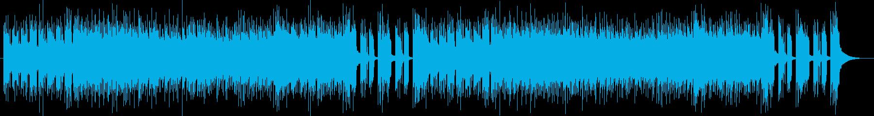 「Heavy/DARK」BGM5の再生済みの波形