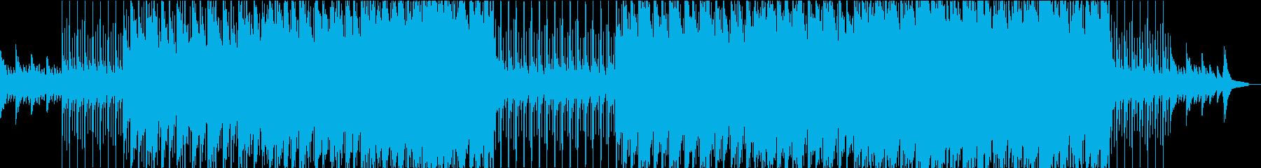 ゆったりほのぼの明るいポップバラードの再生済みの波形