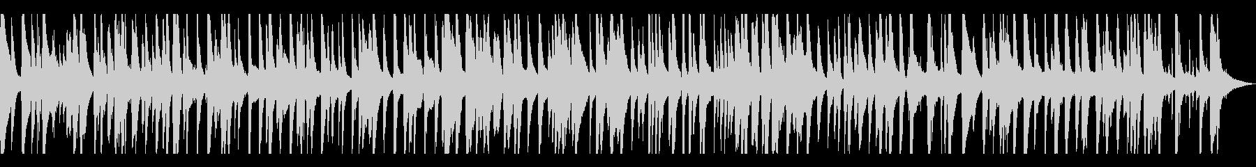 ゆったりとしてお洒落なジャズピアノトリオの未再生の波形
