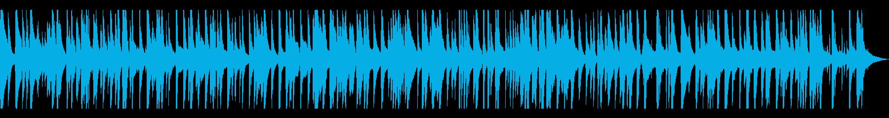 ゆったりとしてお洒落なジャズピアノトリオの再生済みの波形