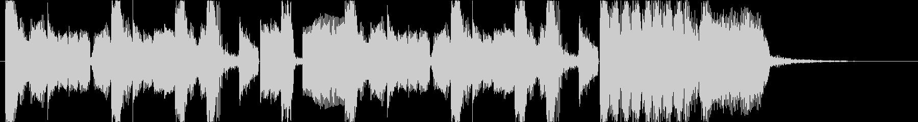 ブリブリとしたサウンドのダブステップの未再生の波形