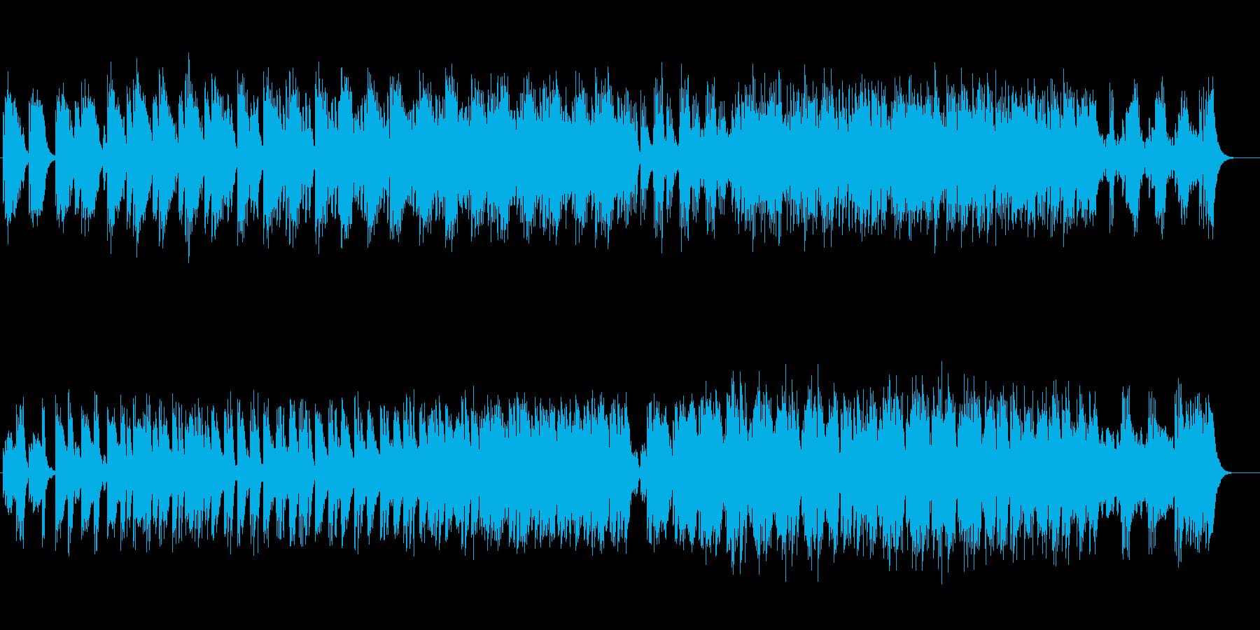 4手の鍵盤打楽器によるミニマルの再生済みの波形