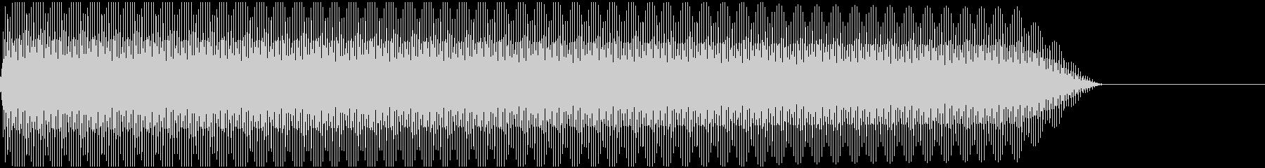 ピー!(ノイズ/高音/エラー/レーザーの未再生の波形