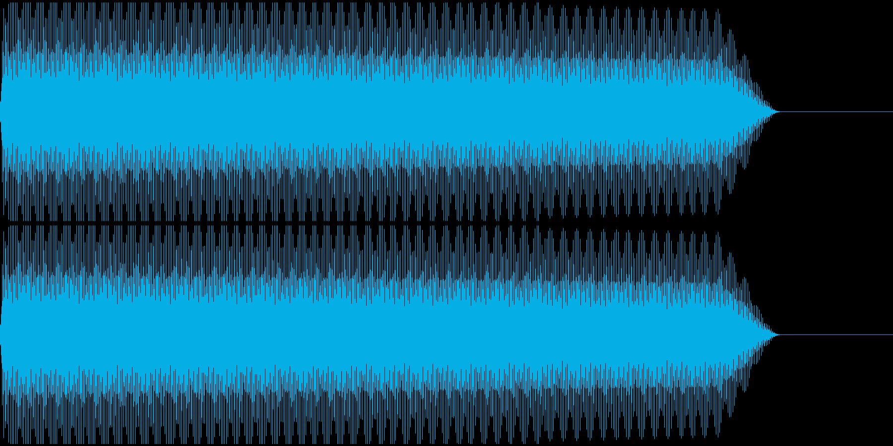 ピー!(ノイズ/高音/エラー/レーザーの再生済みの波形
