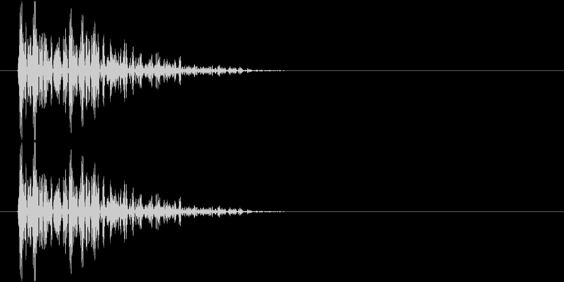 ドムン(衝撃・打撃音)の未再生の波形